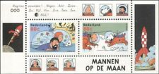 Netherlands 1999 Tintin/Snowy/Dog/Space/Animation/Cartoons/Book/Film m/s  s1028a