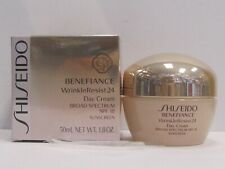 Shiseido Benefiance Wrinkle Resist 24 Day Cream SPF18 Sunscreen 1.8 oz Sealed