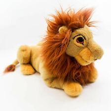 "Vintage Lion King Simba Mufasa Large Plush Puppet 30"" Disney Toy Co."