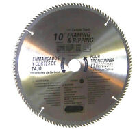 "2 pcs 10"" saw blades 120th carbide teeth Miter Saw Table Saw Wood Cutting Disc"