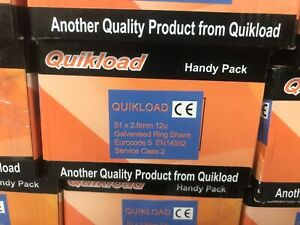 1 28/51 RING GALV BUDGET PACK FOR PASLODE IM350 1100/1 CELL TNT 24 HR DELIVERY