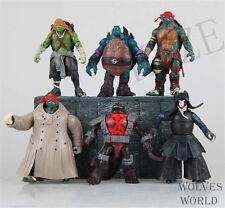 """New Teenage Mutant Ninja Turtles Movie 5"""" Action Figure TMNT 6pcs Lot Toys"""