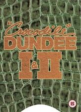Crocodile Dundee 1 & 2 DVD Paul Hogan Linda Kozlowski UK Release New Sealed R2