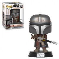 Funko Pop! Star Wars: The Mandalorian #326 NIB W/Box Protector In Stock