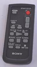 SONY RMT-830 HANDYCAM REMOTE CONTROL