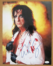 Alice Cooper -  Signed 11x14 Color Photograph! Two Backstage Passes! JSA!
