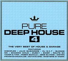 Pure Deep House 4 CD UK 2016 3cd 1stclasspost IBIZA Anthems Drop BBC