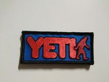 Yeti - GTA - PATCH - 4x9cm -PARCHE - Hook & Loop backing