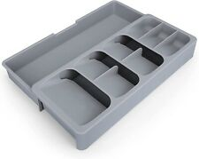 Adjustable Kitchen Drawer Divider for Silverware Cutlery and Utensil