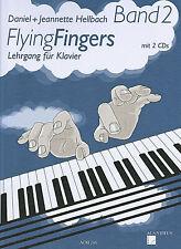 FLYING FINGERS Bd. 2, Hellbach, Lehrgang für Klavier mit 2 CDs - PORTOFREI !