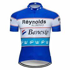 Reynolds Banesto Retro Cycling Jersey