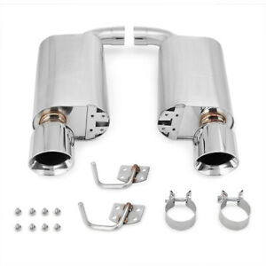 Mishimoto Street Axleback Exhaust Fits Ford Mustang GT 2015-2017 Polished