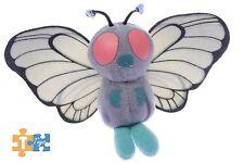 "BUTTERFREE Pokemon Plush 5"" Soft 1998 Hasbro Figure"