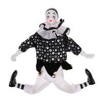 15'' Height Porcelain Clown Doll for Kids Gifts Halloween Christmas Decor #4