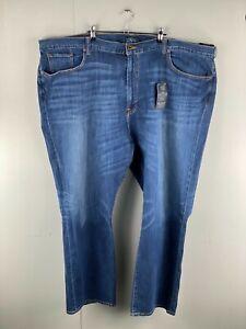 Lucky Brand BNWT Men's Stretch Denim Jeans Zip Pocket Size 54 Blue Brand New