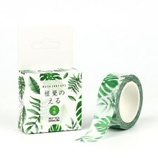 Floral Design 15mm×7M DIY Paper Sticky Adhesive Sticker Decorative Washi Tape *G