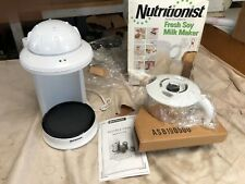 SALTON NUTRITIONIST SY5, FRESH SOY MILK MAKER. STATE OF THE ART ELECTRONICS.