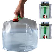 2 x 15l Wasserkanister faltbar Faltkanister Trinkwasserkanister Camping Kanister