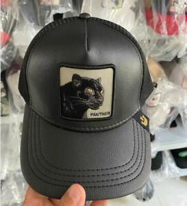for Goori .Baseball Cap Trucker Snapback Hat Adjustable Animal panther