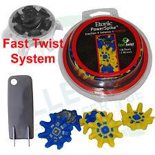 """Etonic Power Soft Spikes """"Fast Twist"""" (Adidas Ecco Footjoy) 18 Stück + Werkzeug"""