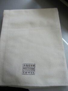 Aquis Essentials large cream super absorbent microfiber towel