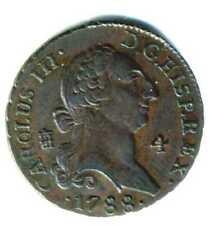 XS- Carlos IV  4 Maravedís 1788   EBC   RARA EN ESTE ESTADO