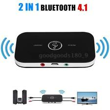 2IN1 Bluetooth4.1 Adattatore HIFI Ricevitore Trasmettitore 3.5MM Audio TV MP3 PC