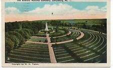 The Soldier's National Cemetery, Gattysburg, Pennsylvania, Vintage Postcard, Dec
