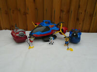 Paw Patrol Pirate Air Patroller Plane Robo Dog & Pirate Marshall & Chase Boat🐾