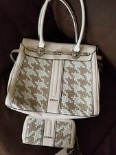 Beige GUESS Set Of Purse And Wallet
