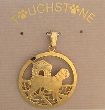 Dogue de Bordeaux Jewelry Gold Pendant by Touchstone