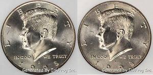 1995 P & D Kennedy Half Dollars Choice/Gem Bu Set from mint sets No Reserve