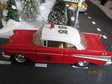 "Train Garden Village House "" The City Fire Chief Car ""+ Dept 56/Lemax Info"