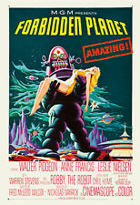 * Forbidden Planet * Robby the Robot  Movie  Poster 1956 Large Format 24x36