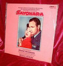LP FACTORY SEALED!  Soundtrack SAYONARA Franz Waxman & Irving Berlin