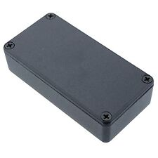 1590gbk autentico Hammond NERO pressofusione di ALLUMINIO Enclosure BOX (100 x 50 x 25mm)