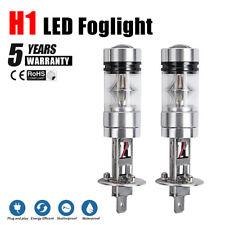 H1 100W LED Fog Light Bulb Car Driving Lamp DRL 6500K White High Power 2200LM
