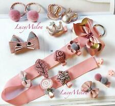 Handmade designer clips hairbands bows girls present kids baby shower present