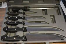 Messerkoffer 6tlg. Messerset Messer + Schneidebrett NIE benutzt