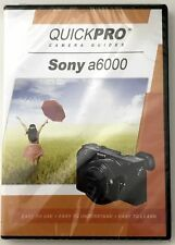 Sony a6000 by QuickPro Camera Guides (94 minute Tutorial DVD) - Brand New