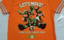 Teenage Mutant Ninja Turtles, Lets Move! Good Guys Always Win T-Shirt! New W/Tag