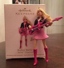 2011 Hand-Crafted Hallmark Keepsake Christmas Ornament • Rockin' Barbie