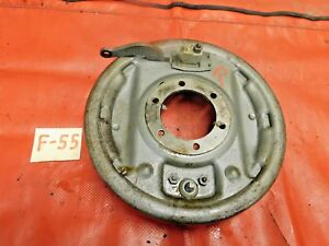 "Triumph TR3, TR4, Rear Brake Assembly & Backing Plate, Right, 9"", !!"