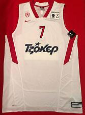 Olympiacos Olympiakos Basketball Jersey official  Spanoulis #7  Size XXL
