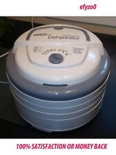 Nesco Fd-75A Gray Snackmaster Pro Food Dehydrator - All New - Free Shipping !