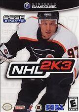NHL 2K3 (Nintendo GameCube, 2002)VG