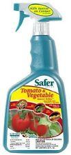 Safer Brand 32 oz Tomato & Vegetable Insect Killer 5085 (3 Pack)