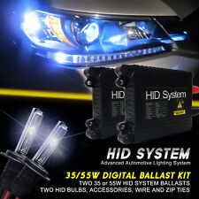 GE Xenon 35W 55W Slim HID Kit for Saab 9-3 9-5 Convertible 9-7X 9-4X 9-2X Aero-X