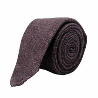 Hugo Boss Men's Burgundy Wool Silk Tie