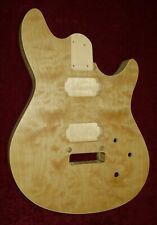 MAPLE / BASSWOOD WOLFGANG STYLE GUITAR BODY, WITH 2 PIECE BINDING